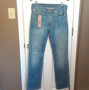 NWT 32X34 LEVIS 514 LOW RISE STRAIGHT Brand New